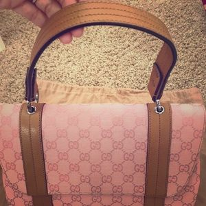💗Pristine💗GUCCI Rare Pigskin Accordion Purse